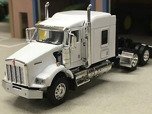 Details about 1/64 DCP WHITE KENWORTH T800 W/ 72