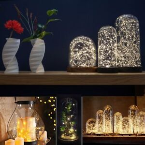 3M-30LED-LED-MICRO-Silver-Copper-Wire-String-Fairy-Lights-Decor-US