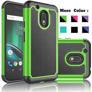 For-Motorola-Moto-G4-Play-XT1607-Case-Cover-With-Tempered-Glass-Screen-Protector