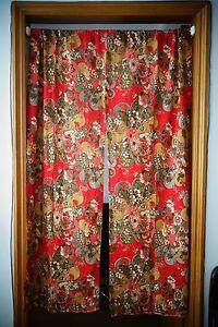 35 034 japanese door curtain japanese noren doorway curtain sakura