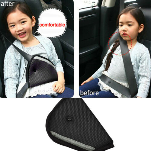Car Child Children Safety Cover Harness Strap Adjuster Pad Kids Seat Belt Clip