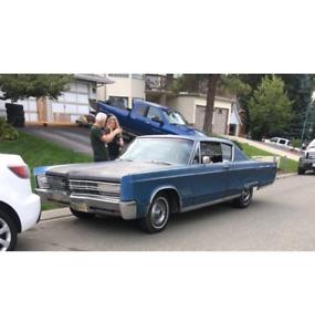 1968 chrysler 300 2 door hard top buckets and console