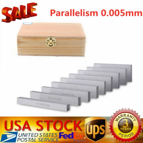 100 x 4mm 9 Pairs Precision Parallel Set Parallel Bock Set Parallel Length 100mm