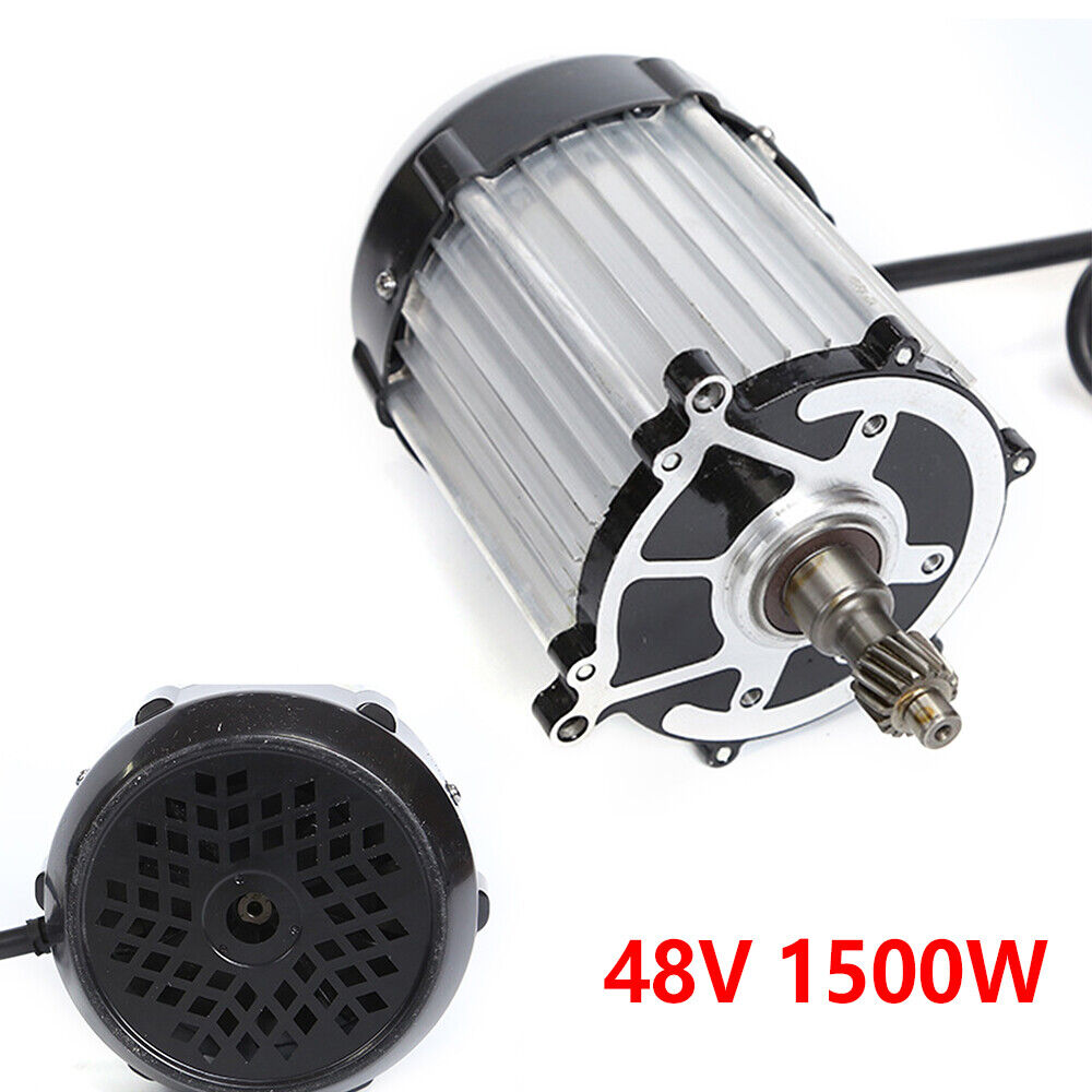 48V  1500W Threaded Ebike Brushless Gearless Rear Hub Motor Electric Bicycle hot  welcome to order