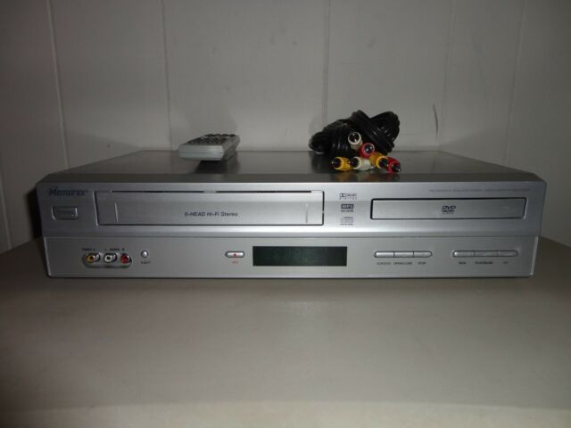 Memorex MVD4544 6-Head Hi-Fi Stereo VCR DVD Player Combo Works Tested Remote