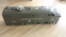 Kusan U.S. Army Train Set With Track and Transformer 'O' Gauge