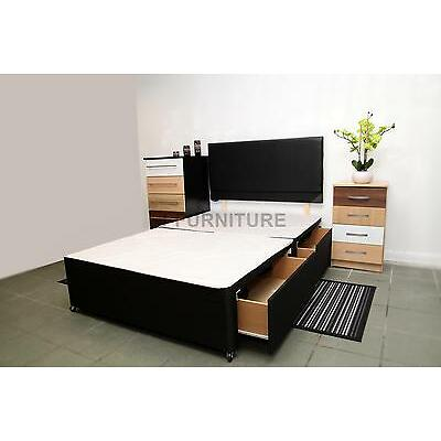 SALE! Single,Double,King Size Divan Bed Base.Storage.Headboard.3ft.4ft.4ft6.5ft