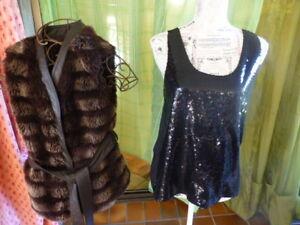 lot-femme-gilet-fourrure-marron-haut-paillettes-noir-jennyfer-les-sans-manches