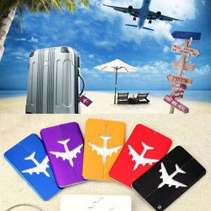 New-Aluminium-Luggage-Tags-Suitcase-Label-Name-Address-ID-Bag-Baggage-Tag-Travel