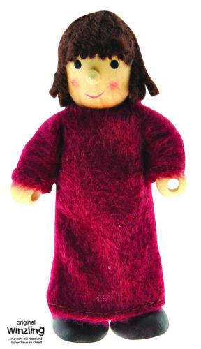 Winzling HIRTENJUNGE Junge Hirte dunkler Umhang Hirten Puppe Biegepuppe Biege