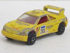 Peugeot 405 T 16 Nr.203 in gelb, Majorette, o.OVP, 1:60