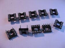 100 pieces 8POS THROUGH HOLE MILL MAX 110-43-308-41-001000 DIP SOCKET
