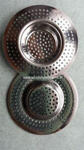 grille pour évier, 2 grilles de 7 cm ,grille inox pour évier, grille évier