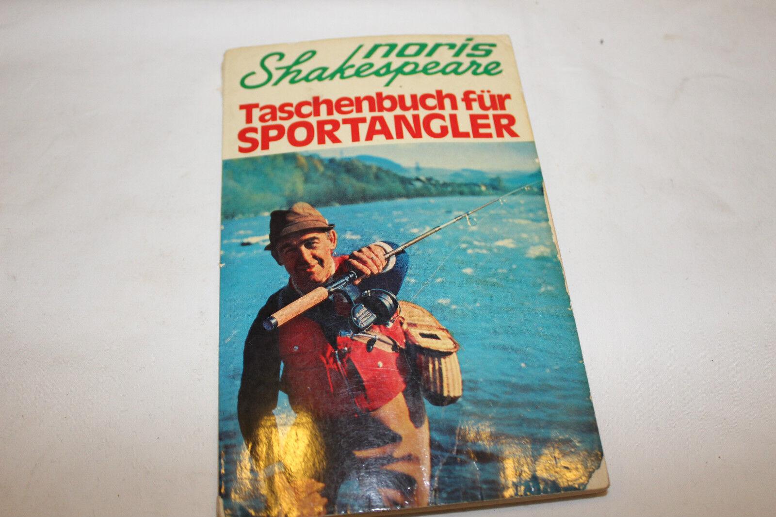 NORIS-SHAKESPEARE TASCHENBUCH FÜR SPORTANGLER- 1971-DEUTSCH