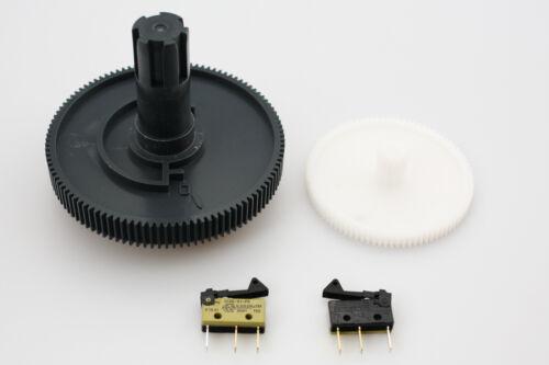 2x microschalter SAECO Royal Magic Incanto getrieberad INGRANAGGIO zahräder incl