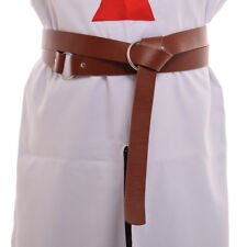 LARP #DK2000 Reenactment Medieval Leather Ring Belt for SCA Available in 5 Colors Cosplay