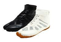 Japanese Tabi Boots Ninja Shoes Marugo sports Jog Black White Free Tracking