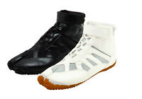 Japanese Tabi Boots Ninja Shoes Marugo sports Jog Black White Free Tracking