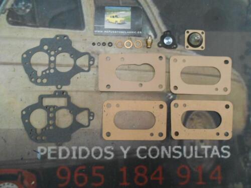 TS RS 12 SUPER KIT REPARACION CARBURADOR SOLEX 28//34 Z10 RENAULT 21 TL GTS