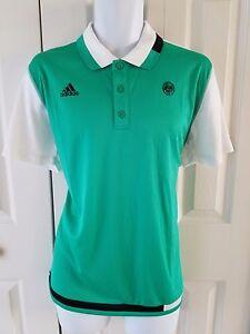 Details about Adidas Men TSONGA Tennis ROLAND GARROS POLO SHIRT Green White Black S699164