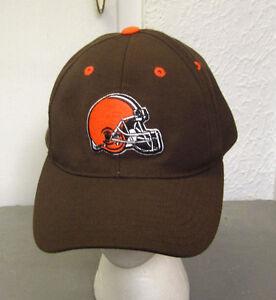 9e8ca5ca Details about CLEVELAND BROWNS helmet logo OG cap NFL football hat wool hat  PUMA embroidery
