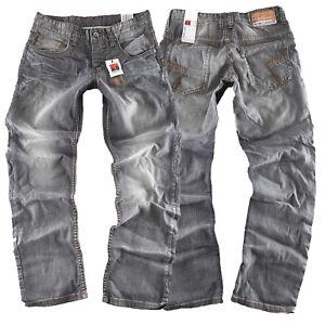 Timezone Herren Jeans Hose Coast 3229 grey spezial Neuware Größen wählbar