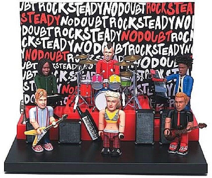 No Doubt Gwen Stefani Play-Set W 6 PVC Figuren By Seg