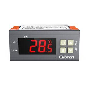 DéVoué Temperature Thermostat Contrôleur Stc-1000 Voiture Heating & Cooling Aquarium Brew-afficher Le Titre D'origine éLéGant En Odeur