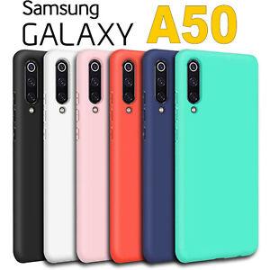 Détails sur Coque Samsung Galaxy A50 L'Original Silicone Étui Qualité Premium
