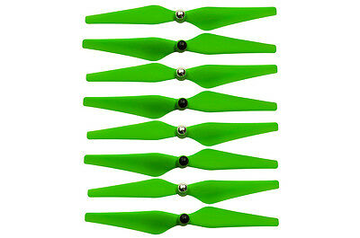 4 sets DJI Phantom 2 And Vision+ Upgraded Self-Tightening 9450 Propellers green