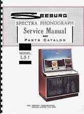 MANUALE COMPLETO  (manual) JUKEBOX SEEBURG LS1 SPECTRA (juke box)