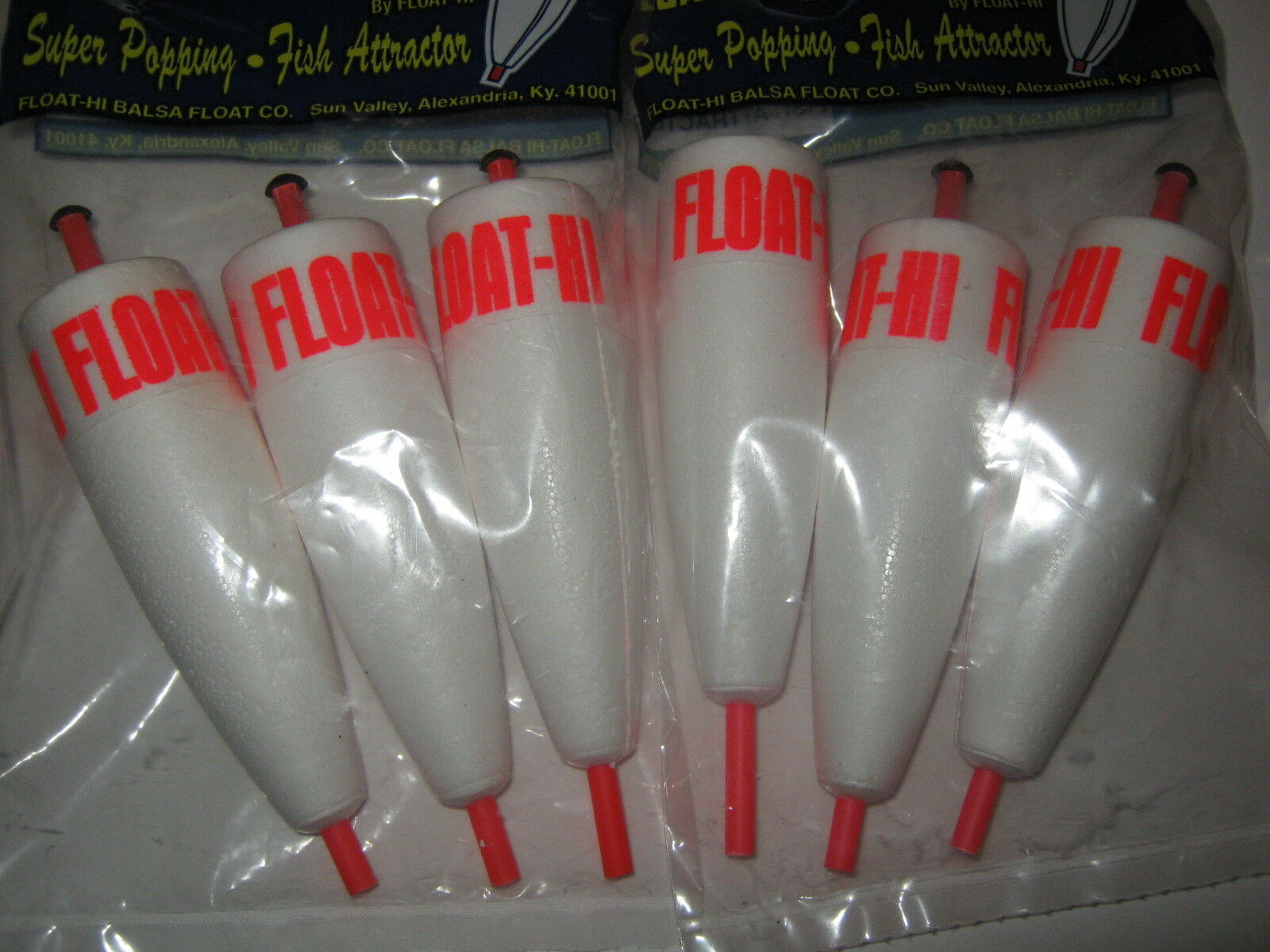 100 Quality 4 in. Foam Popping Corks Adjustable Float Bobber  Fishing Redfish Rig  fast delivery