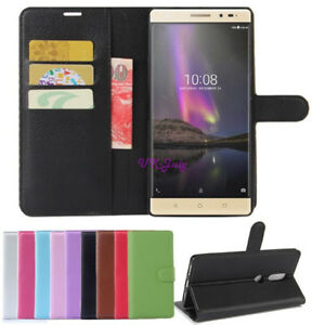 best website ffecb b3794 PU Leather Card Slot Flip For Lenovo Phab 2 Plus PB2-670 PB2-670N ...