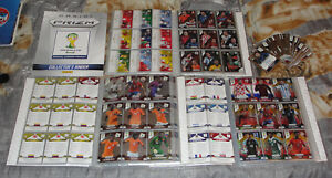 Panini-Prizm-World-Cup-2014-complete-set-410-Cards-Parallel-cards-43-auto-cards