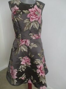 05e8f2d78 Image is loading NWOT-TED-BAKER-KINELLA-JAQUARD-FLORAL-SKATER-DRESS-