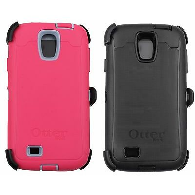 New OtterBox case Samsung Galaxy S4 Defender Series With Belt Clip Black Or Pink
