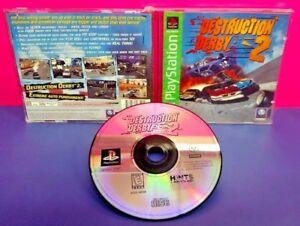 Destruction Derby 2 - Playstation 1 2 PS1 PS2 Game Complete Tested Works Rare