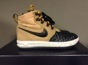 new arrival d801c b31e1 Image is loading NIKE-LUNAR-FORCE-1-DUCKBOOT-039-17-GS-