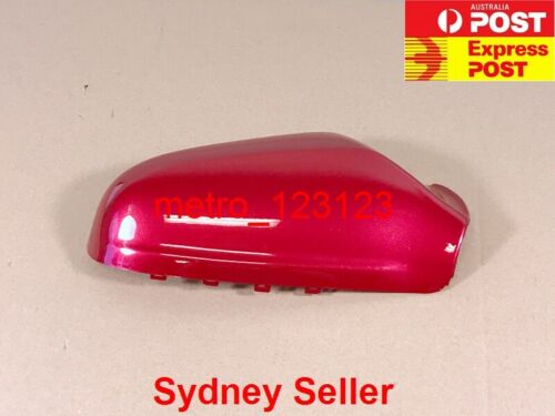 AH RIGHT DRIVER SIDE MIRROR COVER HOUSING FOR HOLDEN ASTRA 2005-2009 RED