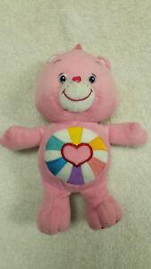 10-034-Care-Bear-Hopeful-Heart-Plush-Toy-Doll-Beanbag-Stuffed-Animal