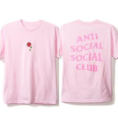 Anti Social Social Club ASSC Logo Bukake Black Tee Size S M L XL XXL
