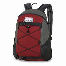 Dakine Wonder Pack willamette grau weinrot - 15 L Rucksack für Schule und Alltag