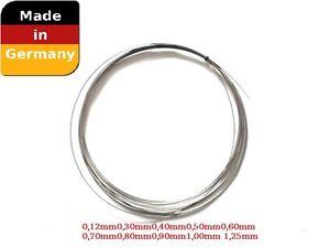 Federstahldraht-0-12-bis-1-25mm-Dicke-5m-pro-Stueckzahl-Rostfreier-Draht