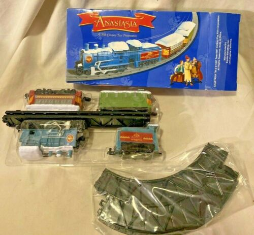 ANASTASIA 10 PIECE TRAIN SET BATTERY OPERATED FROM 20TH CENTURY FOX 1997