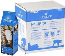 LIFELINE NOURISH BEEF CALF 8 Pk 1.2 lb. Complete Colostrum Replacer APC 61085