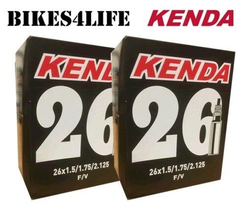 KENDA CYCLE PRESTA  VALVE INNER TUBE 26 X 1.75  KT36B  QUANTITY OPTIONS