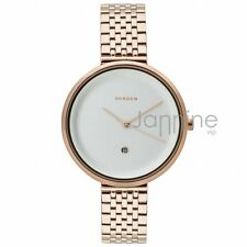 Skagen Authentic Watch SKW2421 Rose Gold 38mm Gitte Stainless Steel Women's