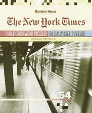 The New York Times Daily Crossword Puzzles, Volume 54 (NY Times)