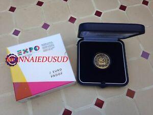 2 Euro Cc Be Italie 2015 Belle Epreuve - Exposition De Milan Runidw11-07223800-488949209