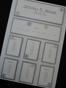 A3-Personalised-Wedding-Table-Seating-Plan-Snowflake-Christmas-Decoration